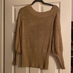 Guess off the shoulder sweater